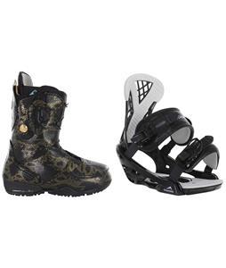 Burton Modern Snowboard Boots w/ Chamonix Bellevue Bindings