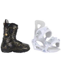Burton Modern Snowboard Boots w/ Chamonix Brevant Bindings