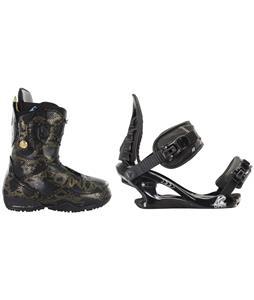 Burton Modern Snowboard Boots w/ K2 Charm Bindings