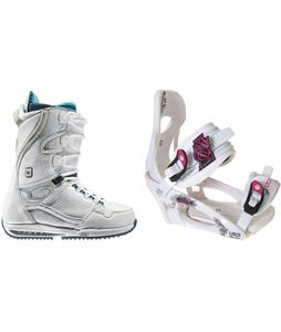 Burton Sapphire Snowboard Boots w/ LTD LT250 Bindings