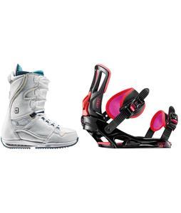 Burton Sapphire Snowboard Boots w/ Rossignol Myth Bindings