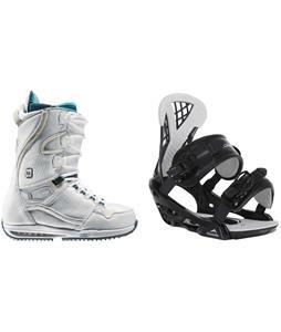 Burton Sapphire Snowboard Boots w/ Chamonix Bellevue Bindings