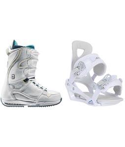 Burton Sapphire Snowboard Boots w/ Chamonix Brevant Bindings