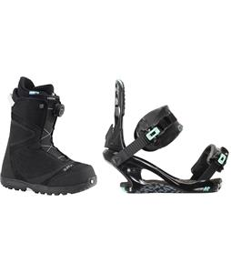 Burton Starstruck BOA Snowboard Boots w/ K2 Yeah Yeah Bindings