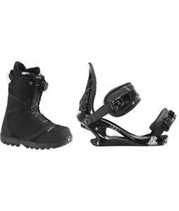 Burton Starstruck BOA Snowboard Boots w/ K2 Charm Bindings