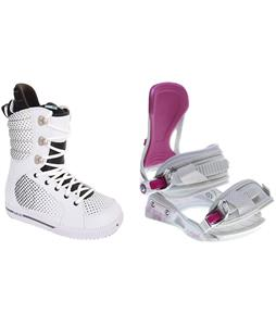Burton Tryst Snowboard Boots w/ Avalanche Serenity Bindings