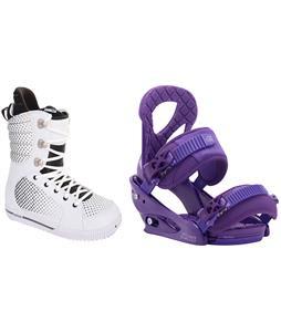 Burton Tryst Snowboard Boots w/ Burton Stiletto Bindings