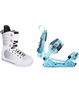 Burton Tryst Snowboard Boots w/ K2 Cinch Tryst Bindings