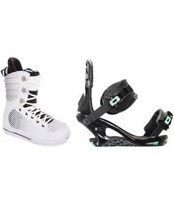 Burton Tryst Snowboard Boots w/ K2 Yeah Yeah Bindings