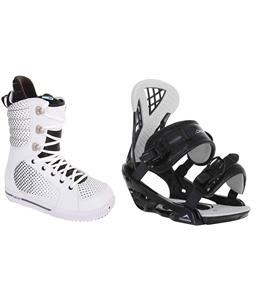 Burton Tryst Snowboard Boots w/ Chamonix Bellevue Bindings