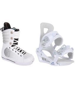 Burton Tryst Snowboard Boots w/ Chamonix Brevant Bindings