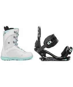 DC Karma Snowboard Boots w/ K2 Yeah Yeah Bindings