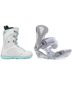 DC Karma Snowboard Boots w/ Sapient Zeta Bindings