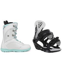 DC Karma Snowboard Boots w/ Chamonix Bellevue Bindings
