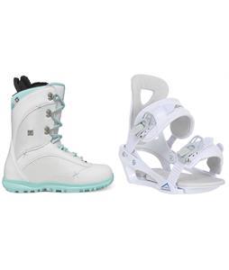DC Karma Snowboard Boots w/ Chamonix Brevant Bindings