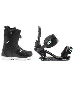 DC Search BOA Snowboard Boots w/ K2 Yeah Yeah Bindings