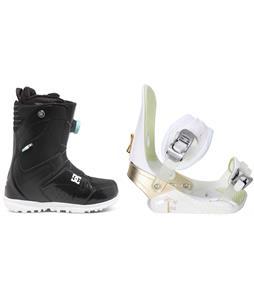 DC Search BOA Snowboard Boots w/ Morrow Lotus Bindings