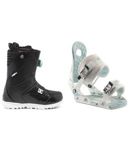 DC Search BOA Snowboard Boots w/ Ride LXH Bindings