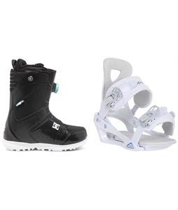 DC Search BOA Snowboard Boots w/ Chamonix Brevant Bindings