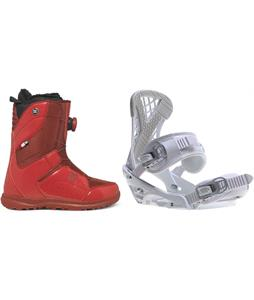 DC Search BOA Snowboard Boots w/ Sapient Zeta Bindings