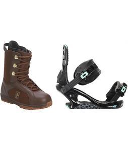Forum Aura Snowboard Boots w/ K2 Yeah Yeah Bindings