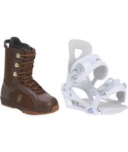 Forum Aura Snowboard Boots w/ Chamonix Brevant Bindings
