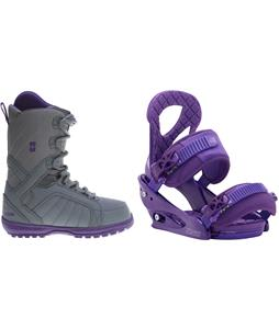 Forum Bebop Snowboard Boots w/ Burton Stiletto Bindings