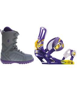 Forum Bebop Snowboard Boots w/ Rossignol Tesla Bindings