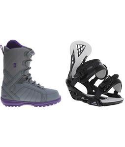 Forum Bebop Snowboard Boots w/ Chamonix Bellevue Bindings