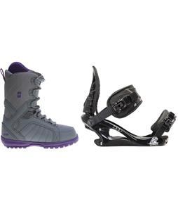 Forum Bebop Snowboard Boots w/ K2 Charm Bindings