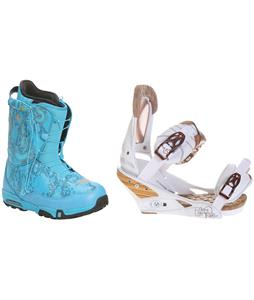 Forum Stampede SLR Snowboard Boots w/ Burton Escapade Bindings