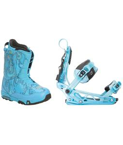Forum Stampede SLR Snowboard Boots w/ K2 Cinch Tryst Bindings