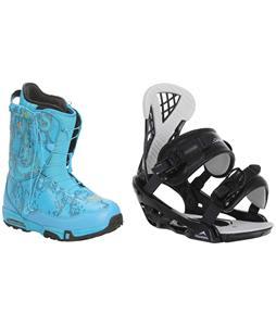 Forum Stampede SLR Snowboard Boots w/ Chamonix Bellevue Bindings