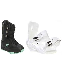 Forum Destroyer Snowboard Boots w/ Sapient Zeta Bindings