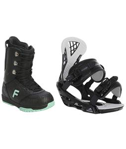 Forum Destroyer Snowboard Boots w/ Chamonix Bellevue Bindings