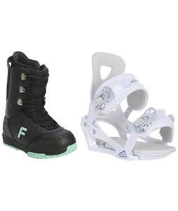 Forum Destroyer Snowboard Boots w/ Chamonix Brevant Bindings