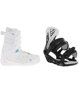 K2 Plush Snowboard Boots w/ Chamonix Bellevue Bindings