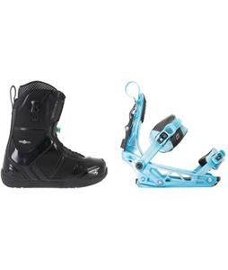K2 Scene Snowboard Boots w/ K2 Cinch Tryst Bindings