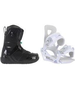 K2 Scene Snowboard Boots w/ Chamonix Brevant Bindings