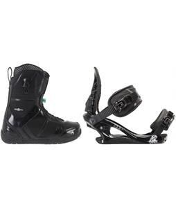 K2 Scene Snowboard Boots w/ K2 Charm Bindings