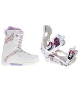K2 Range Snowboard Boots w/ LTD LT250 Bindings