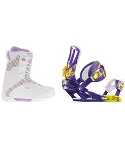 K2 Range Snowboard Boots w/ Rossignol Tesla Bindings