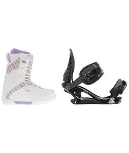 K2 Range Snowboard Boots w/ K2 Charm Bindings