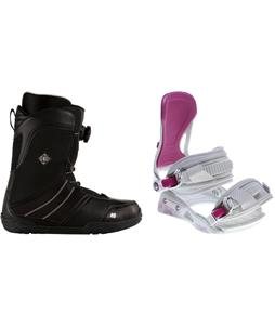 K2 Sendit Snowboard Boots w/ Avalanche Serenity Bindings