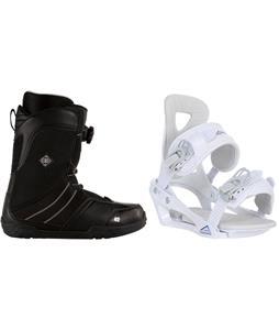 K2 Sendit Snowboard Boots w/ Chamonix Brevant Bindings
