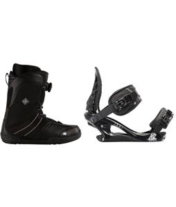 K2 Sendit Snowboard Boots w/ K2 Charm Bindings
