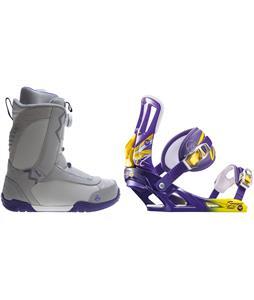 K2 Sendit Snowboard Boots w/ Rossignol Tesla Bindings