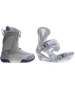 K2 Sendit Snowboard Boots w/ Sapient Zeta Bindings