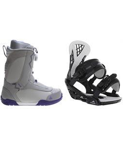 K2 Sendit Snowboard Boots w/ Chamonix Bellevue Bindings