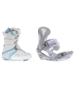 M3 Cosmo Snowboard Boots w/ Sapient Zeta Bindings